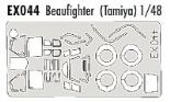 EDEX044 1/48 Bristol Beaufighter Mask (Tamiya)